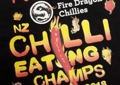 Digital Print for Fire Dragon Chillies